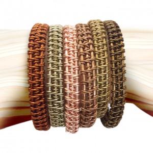 3 strand - copper Haiyan bracelets