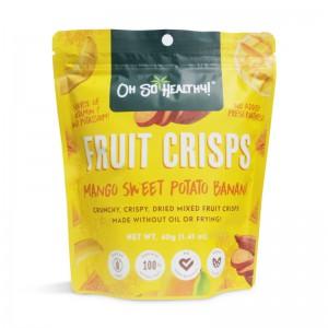 oh so healthy - fruit crisps - mango sweet potato banana