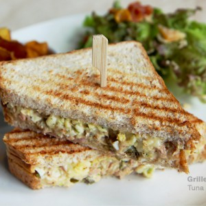 ECHOcafe Grilled Sandwich - Tuna & Egg Salad