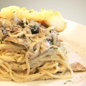 ECHOcafe Pasta - Creamy Mushroom