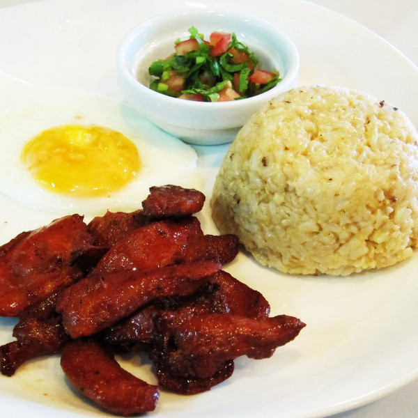 ECHOcafe Pinoy Breakfast - Chicken Tocino