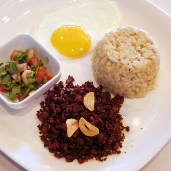 ECHOcafe Pinoy Breakfast - Homemade Chorizong Hubad
