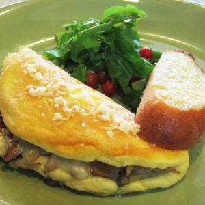 ECHOstore Breakfast - French Mushroom Omelet